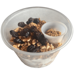 Granola Bowl with toasted Quinoa Seeds
